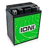 IONI IB14L-A2 12V 14Ah AGM Batterie kompatibel mit YB14L-A2 versiegelt/wartungsfrei Motorradbatterie